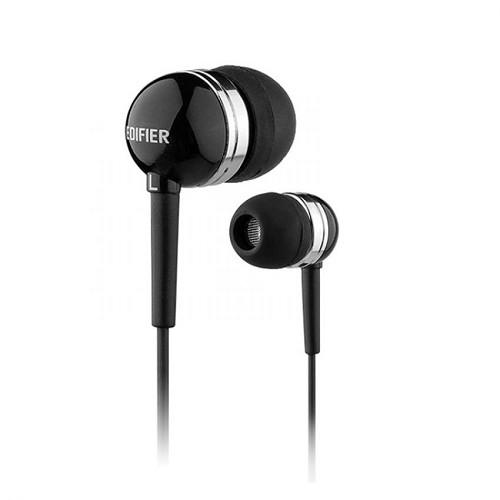 EDIFIER Earphone [H285] - Black - Earphone Ear Bud